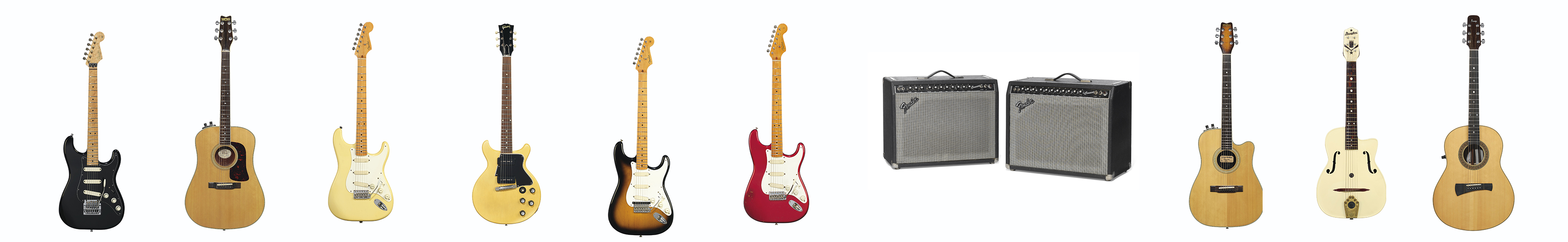 The David Gilmour Guitar Auction: A Summary of All Items